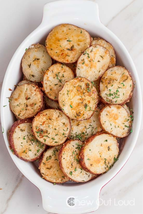 Onion Parmesan Roasted Potatoes