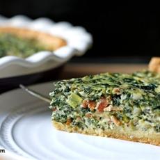 Greek Style Spinach-Feta Pie