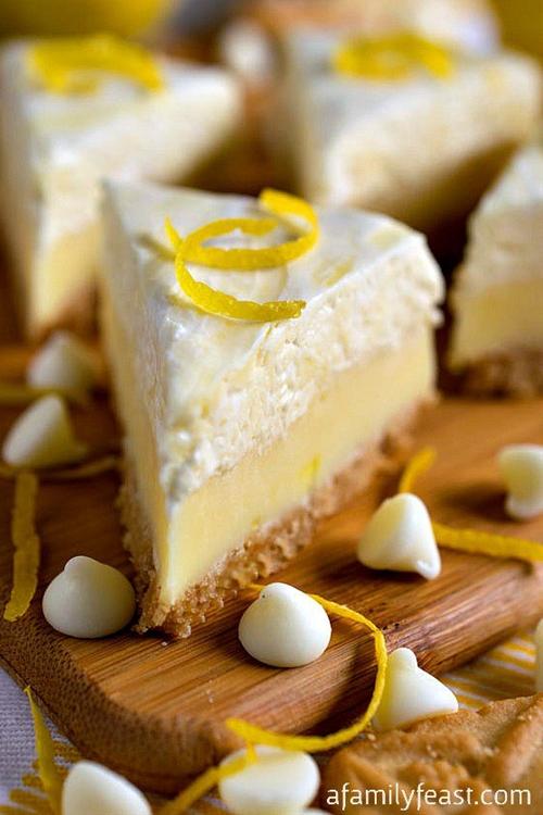 Lemon Meringue Pie Fudge & Dessert Mash