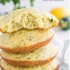 Lemon Poppy Seed Zucchini Muffies