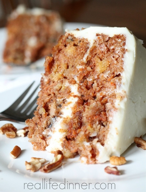 Out of this World Carrot Cake