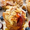 French Toast Cups with Coconut Almond Streusel
