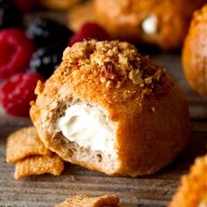 Cinnamon Toast Crunch Bagel Bites