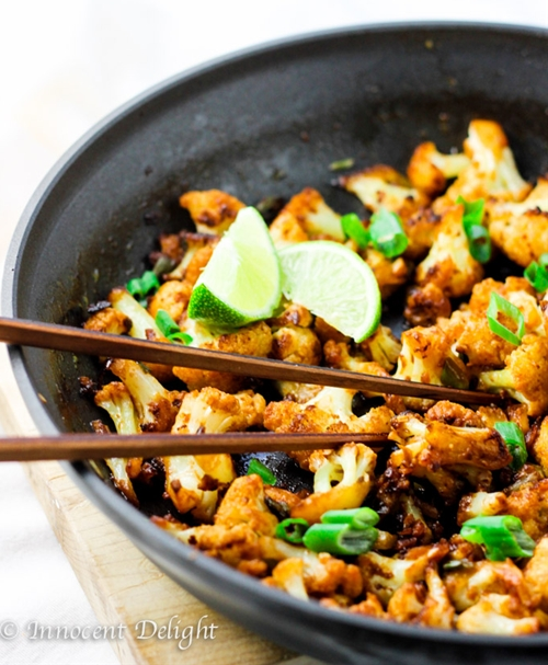 Spicy Siracha Cauliflower