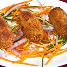 Macher Chop (Bengali Fish Croquettes)