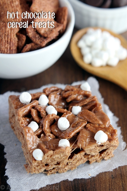 Hot Chocolate Cereal Treats