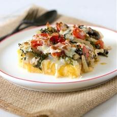 Polenta Vegetable Casserole