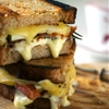Bacon, Pear, Rosmary and Grilled Cheese Sandwich
