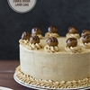 Brown Butter Chocolate Chip Cookie Dough Layer Cake