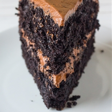 Death-By-Chocolate Layered Cake