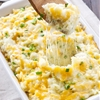 Skinny Cheesy Potato Casserole