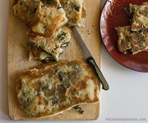 Thyme Bread (Fatayer Zaatar)