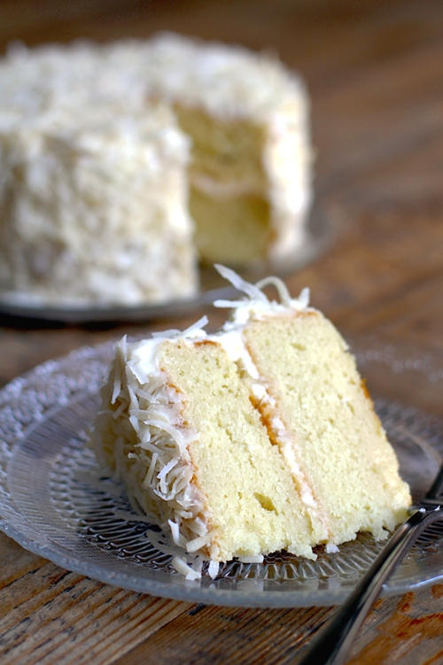 Coconut Cake with Cream Cheese Frosting