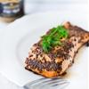 Simple Mustard Crusted Salmon