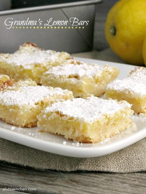 Grandmas Lemon Bars