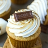Nutella Filled Smores Cupcakes
