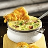 30-Minute Corn & Chicken Chowder with Tuna Melts