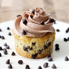 Banana Chocolate Chip Cupcakes
