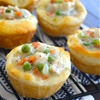Mini Chicken Pot Pie Bites