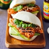Grilled chilli chicken buns