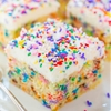Easy Homemade Funfetti Cake with Vanilla Buttercream