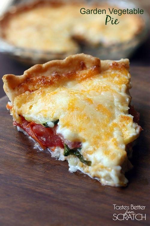 Garden Vegetable Pie
