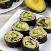 Quinoa Avocado, Cucumer, and Spinach Sushi
