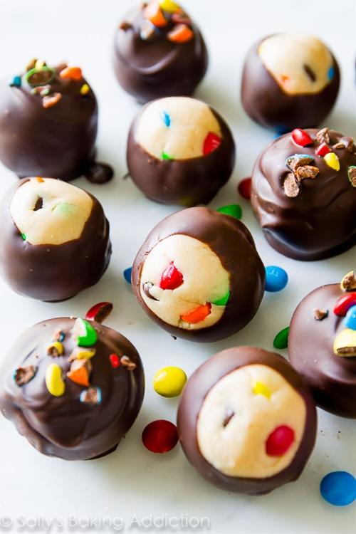 Peanut Butter M&MS® Truffles.