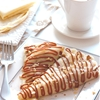 Banana Nut Crepes with Dulce de Leche
