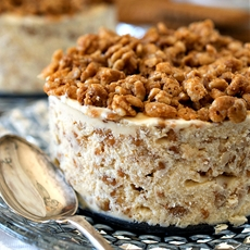 Biscoff Crunch Ice Cream Cake