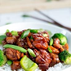 Simple Chicken Teriyaki Stir Fry