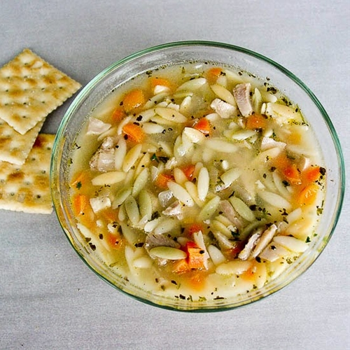Easy Chicken Orzo Soup