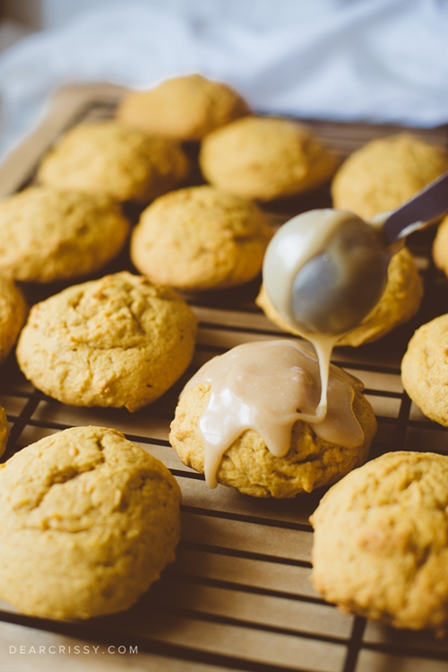 Buttery Pumpkin Cookies