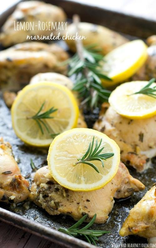 Lemon-Rosemary Marinated Chicken