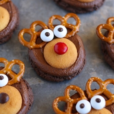 How to Make Rudolph Cookies