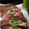 Pan-Seared Steak with Chimichurri