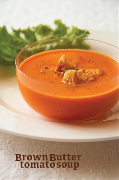 Brown Butter Tomato Soup