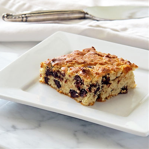 Goat Cheese & Chocolate Chunk Blondies