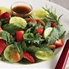 Baby kale strawberry salad