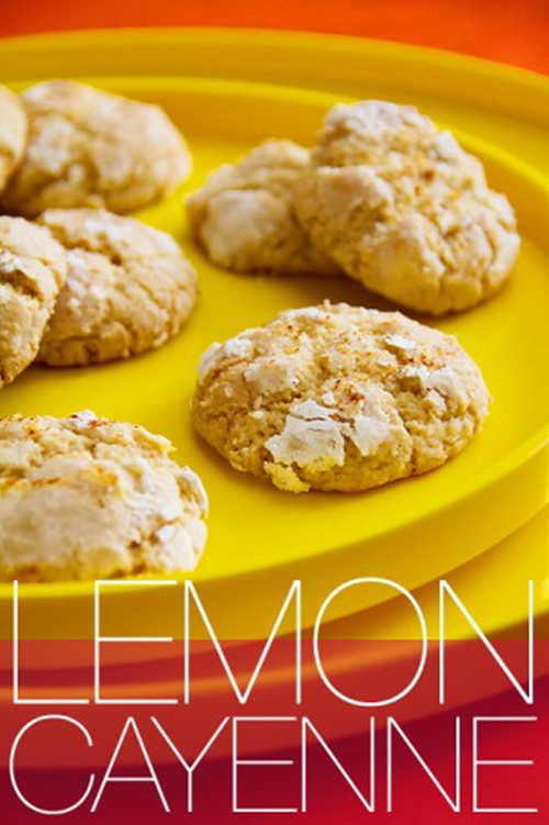 Lemon Cayenne Cookies