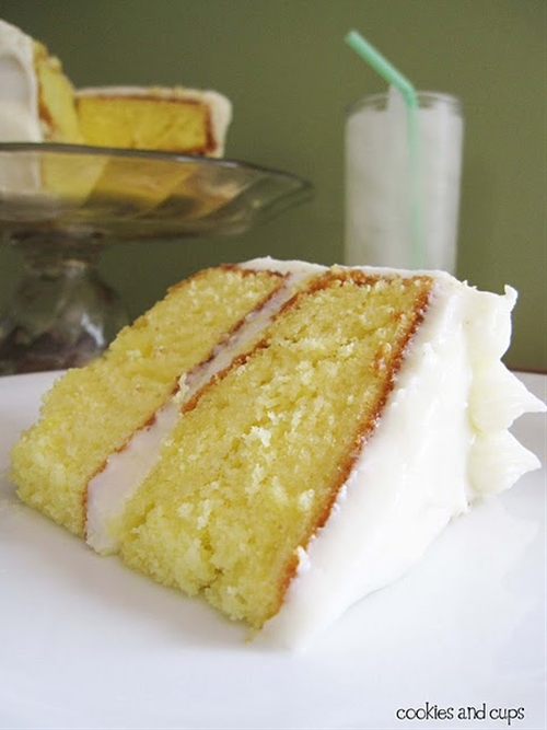Lemonade Cake with Lemon Cream Cheese Frosting recipe | Chefthisup