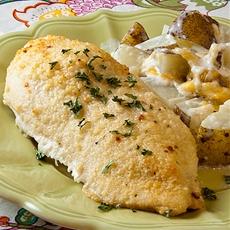 Easy Italian Baked Chicken