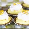 Lemon Cream No-Bake Mini-Cheesecakes