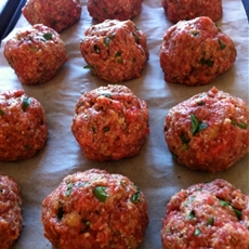 Incredible Baked Meatballs