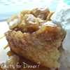 Old Fashion Apple Cinnamon Pudding