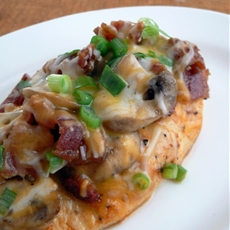 Bacon Mushroom Honey Dijon Chicken