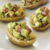 Potatoes with Walnut Guacamole à la Mode