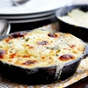 Blue Cheese and Caramelized Onion Potatoes Au Gratin