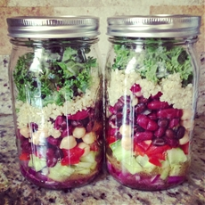 Mason Jar Salad Recipe