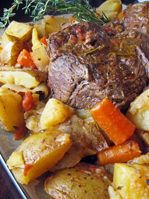 Beef Pot Roast with Vegetables